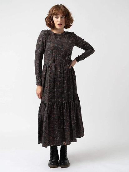 SAINT + SOFIA Paisley Print Dress