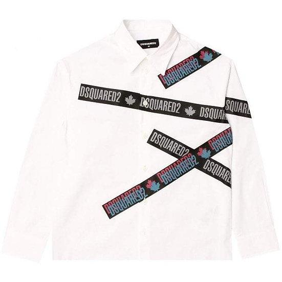 DSQUARED2 Tape Logo Shirt