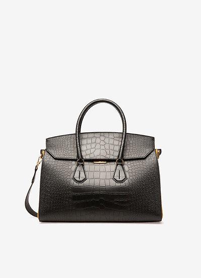 BALLY UK Saphyr Leather Handbag