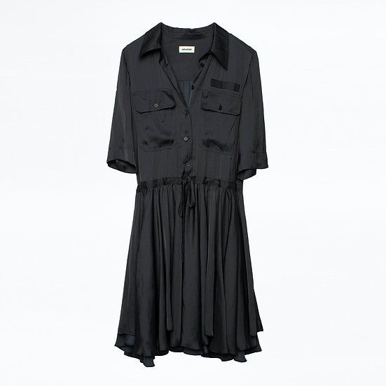 ZADIG & VOLTAIRE Ranili Satin Dress