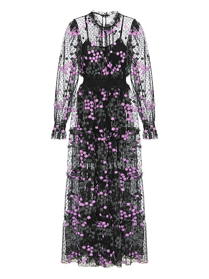 ALICE McCALL Black Floral Dress