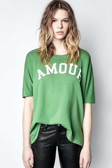 ZADIG & VOLTAIRE Green T-shirt