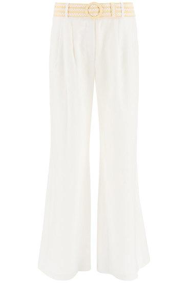 ZIMMERMANN Amelie Linen Trousers