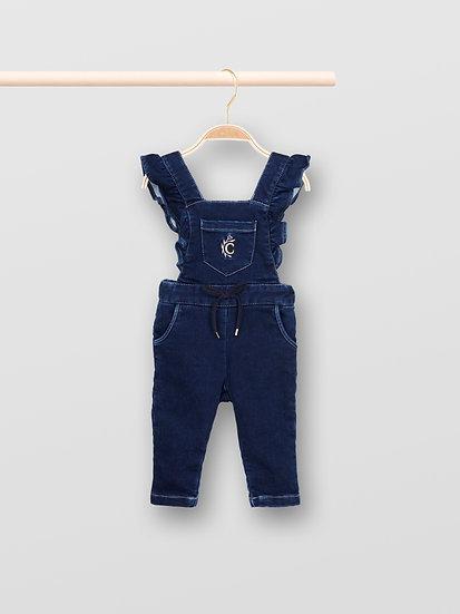 CHLOÉ  Baby Girl Denim overalls Size 3-6Months