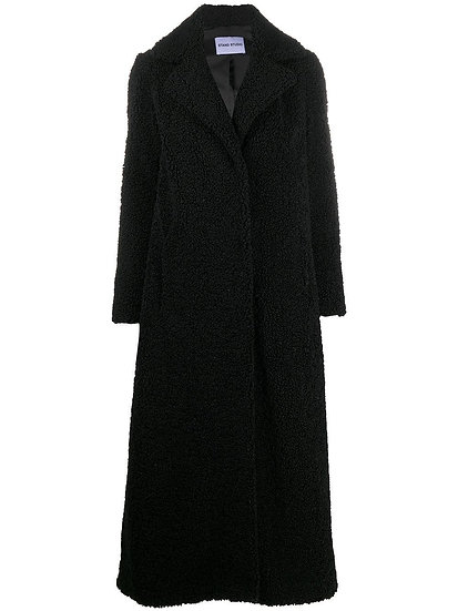 STAND Kylie Black Coat
