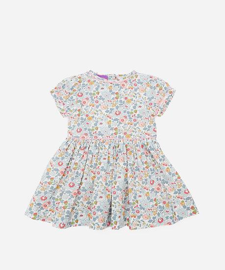 At LIBERTY Betsy Tana  Lawn Baby Cotton Dress