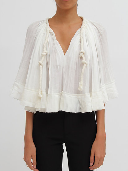 CHLOÉ V Neck Top