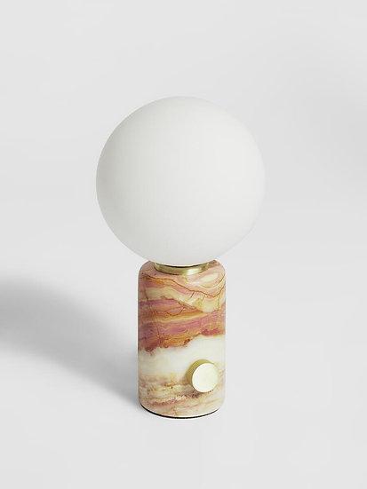 SOHO HOME Silas Table Lamp, Onyx