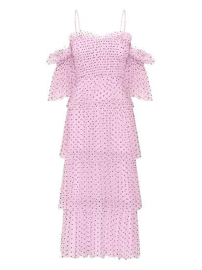 ALICE McALL Midi Pink Dress