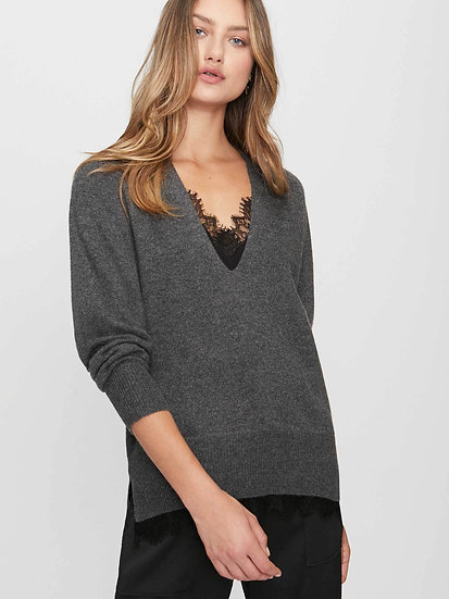 BROCHU WALKER Women Lace V Pullover