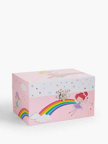 Musical Fairy Jewellery Box at John Lewis