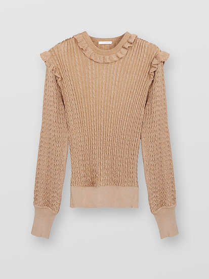 CHLOE Cable Knit Jumper
