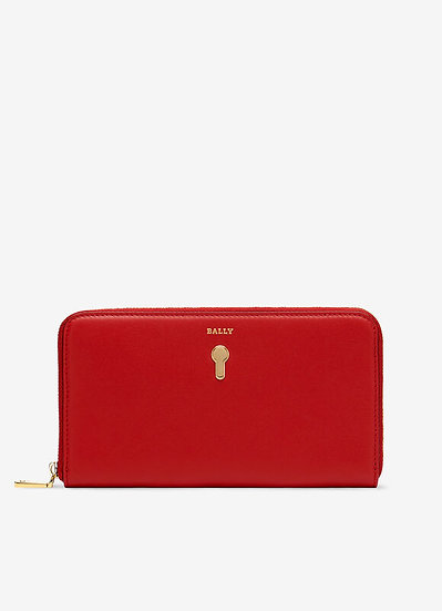 BALLY Crovenor Red Wallet