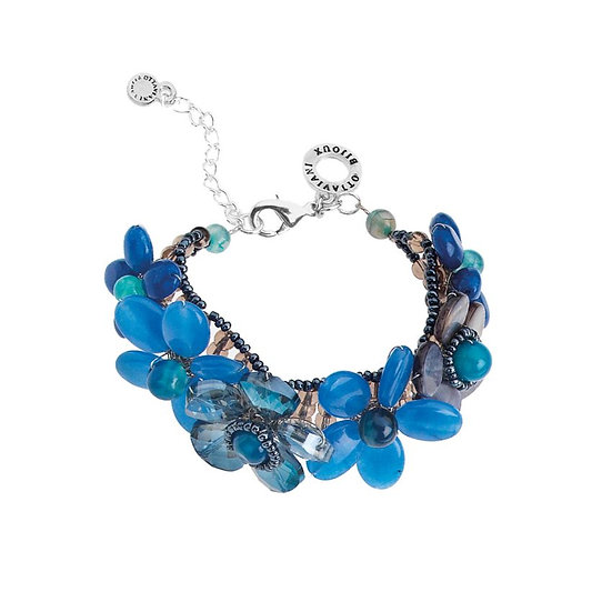 OTTAVIANI Bracelet Mother of Pearls and Crystals