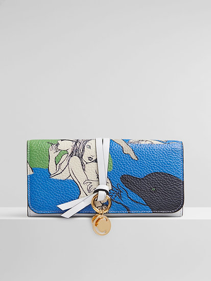 CHLOÉ Alphabet Long Multicolour Wallet