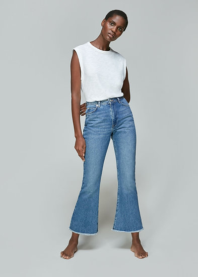 WHISTLES Denim Authentic Flare Jeans.