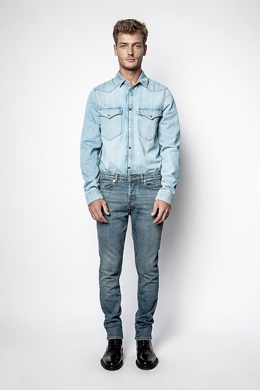 ZADIG & VOLTAIRE Men D-Stan Denim Shirt