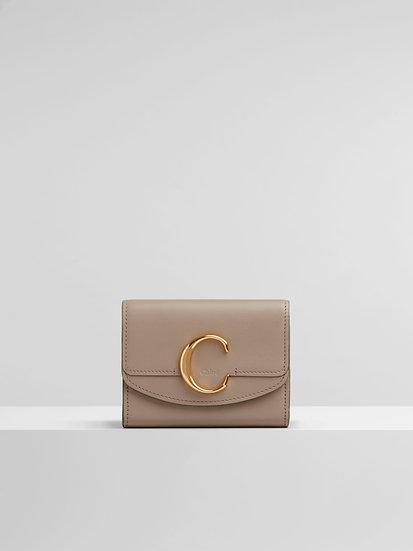 CHLOÉ  Women Chloé C small tri-fold  Coin Purse