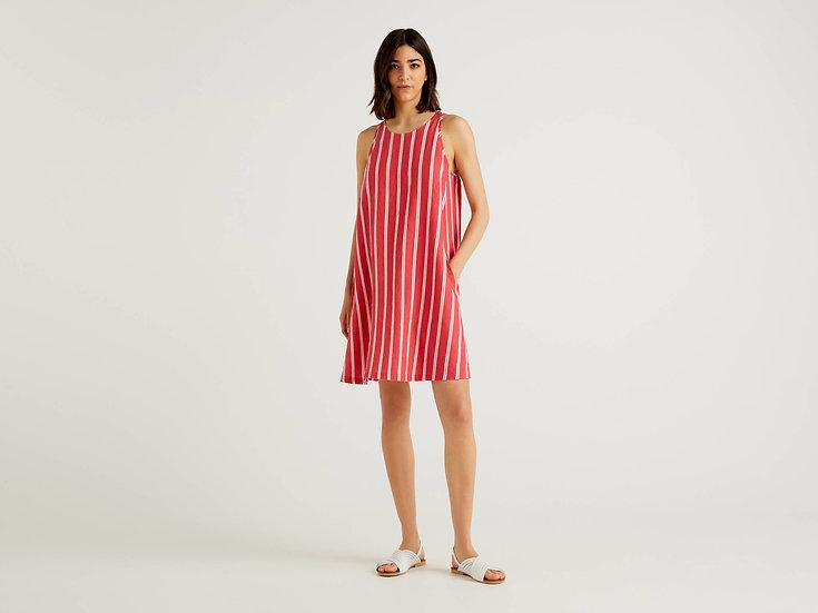 BENETTON EU Linen Dress