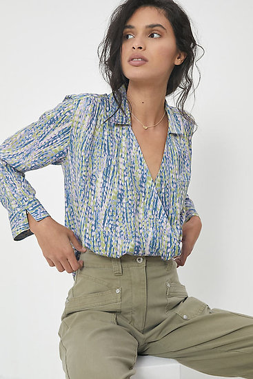 ANTHROPOGIE FR Graphic Blouse