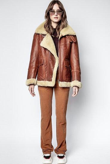 ZADIG & VOLTAIRE Women Shearling Coat