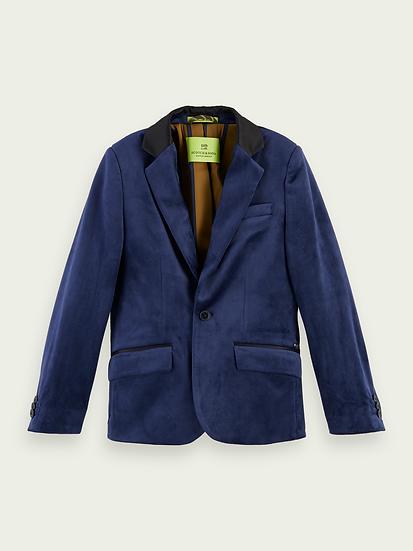 SCOTCH & SODA Boys Velvet Smart  blazer
