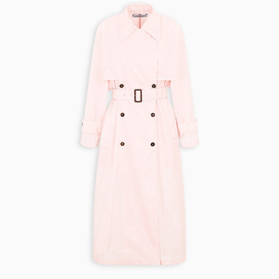 PRADA Pink Trench Coat