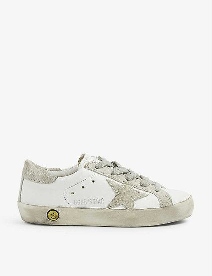 GOLDEN GOOSE Girls Leather Trainers