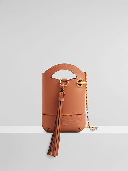 CHLOÉ Walden small phone pouch