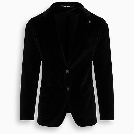 TAGLIATORE Black Velvet Blazer