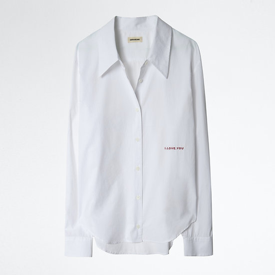 ZADIG + VOLTAIRE Women White Shirt