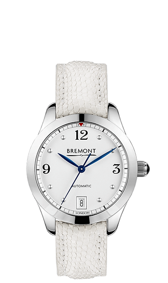 BREMONT SOLO 34 AJ White Bracelet Ladies Watch