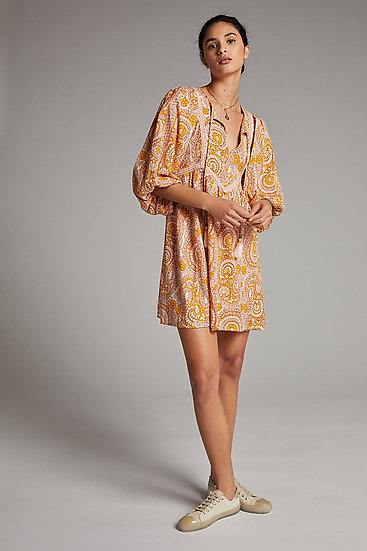 ANTHROPOGIE FR Short Print Dress