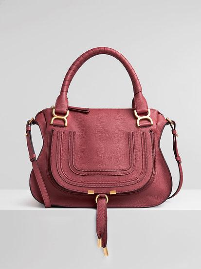 CHLOÉ UK Marcie Leather Handbag