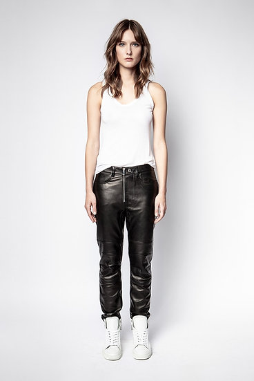 ZADIG + VOLTAIRE Leather Trousers