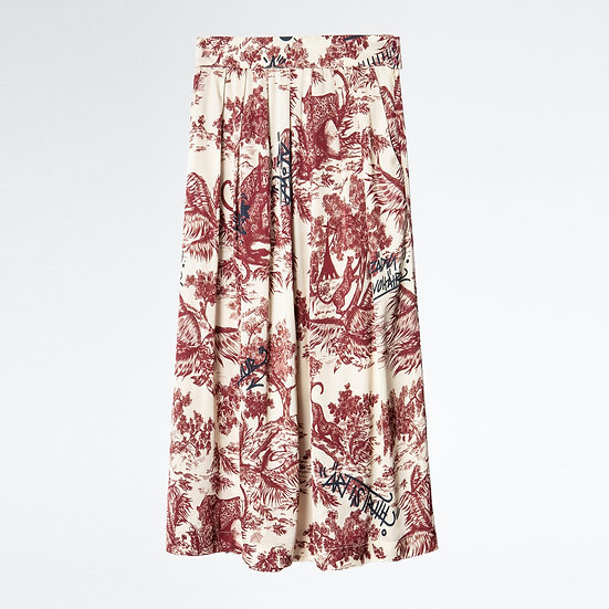 ZADIG & VOLTAIRE Print Floral Skirt