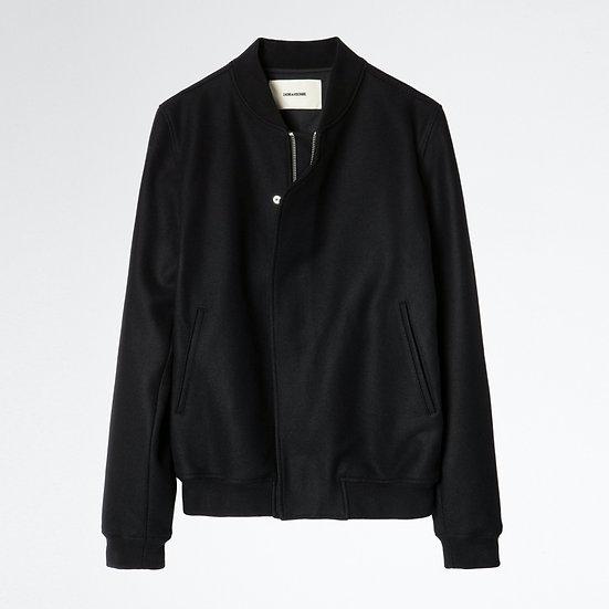 ZADIG & VOLTAIRE Men Bomber Wool Jacket