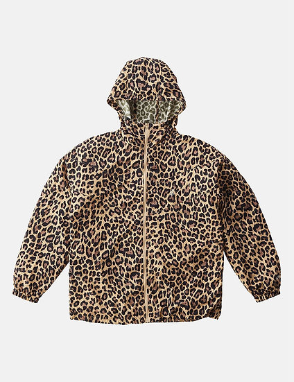 Gramicci Men Shell Jacket - Leopard Print
