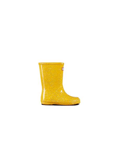 HUNTER EU Original Children Wellington Yellow Boots