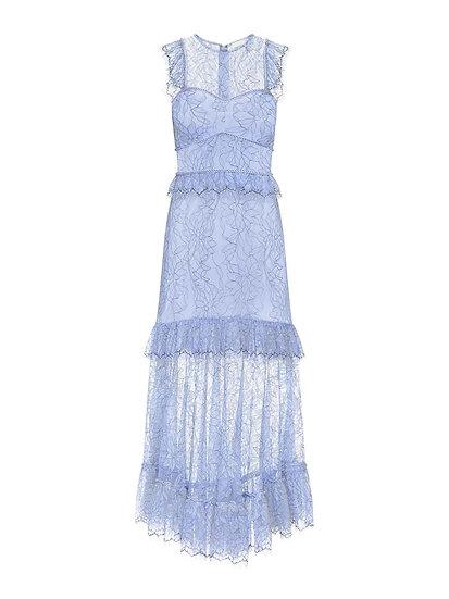 ALICE McCALL Blue Lace Dress