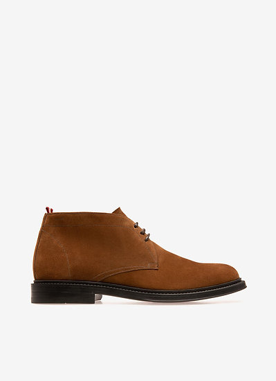 BALLY Nilton Suede Leather Boots