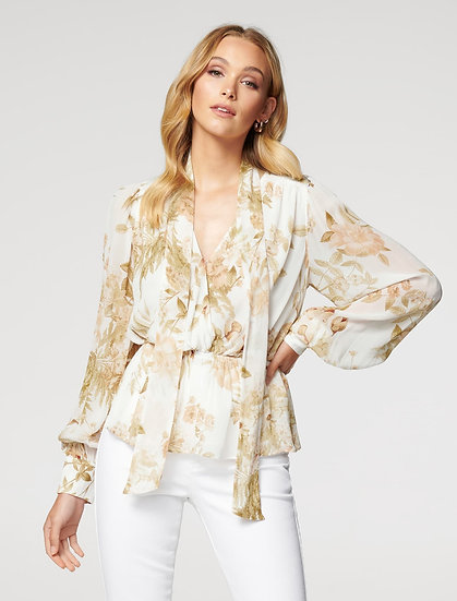 Forever New International Floral Blouse