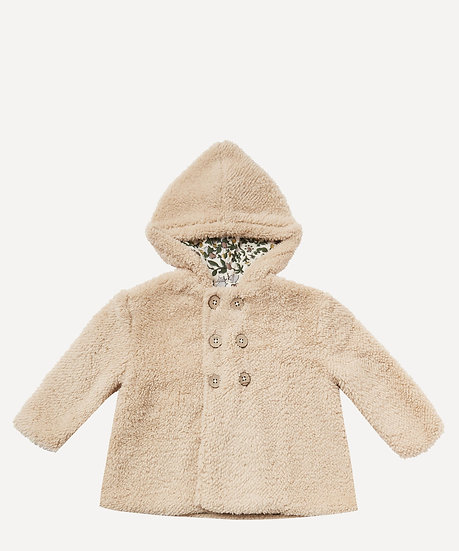 At LIBERTY Rylee+ Cru Baby Double Breasted Coat