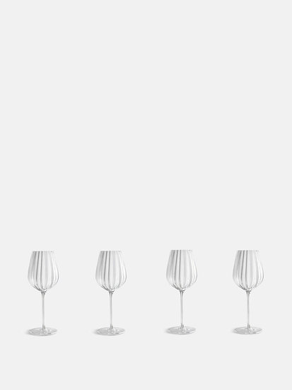 SOHO HOME  Set of Four Red Wine Glass
