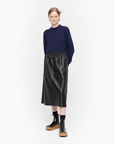 MARIMEKKO Taikova Leather Black Skirt