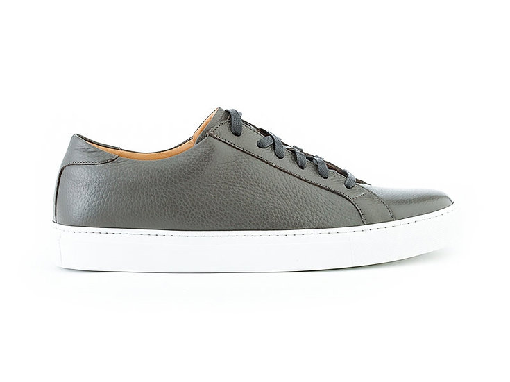 ACE MARKS Dress Sneakers in Grey Pebble