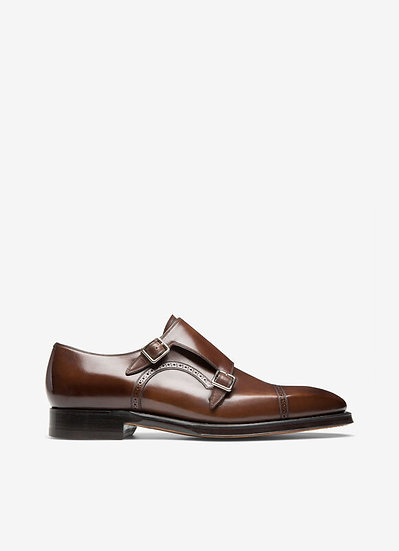 BALLY UK Scardino Men's Brown Leather Shoes