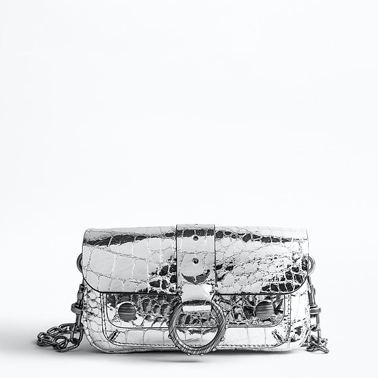 ZADIG & VOLTAIRE Kate Wallet Croco Bag