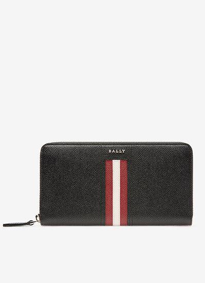 BALLY Telen Leather Travel Wallet