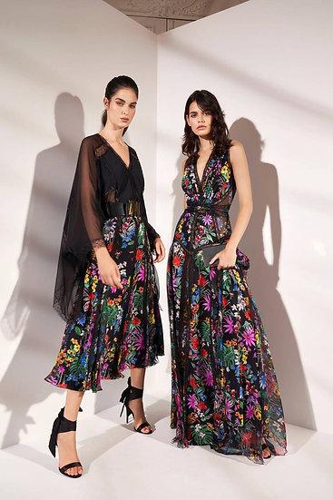 Zuhair Murad Jacamar Sleeveless Silk Gown